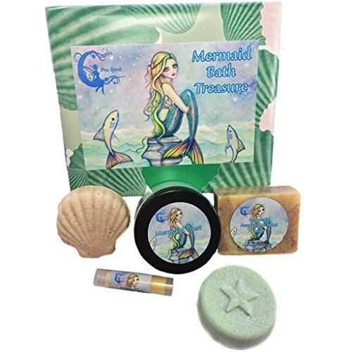 bath-bomb-gift-set-mermaid-bath-treasure-handmade-soap-lip-balm-bath-truffle-bath-melt-bath-salts-me