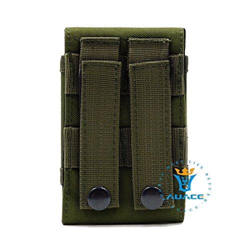 Multifunktions Survival Gear Tactical Beutel MOLLE Beutel Handytasche, Outdoor Camping Tragbare Tasche Handtaschen Taille Tasche Werkzeugtasche Travel Handytasche OD
