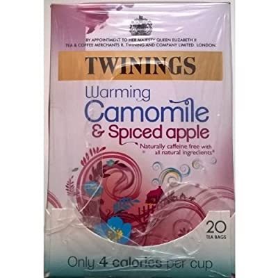 Twinings camomille et épicées d'Apple Sachets - 4 x 20 'S