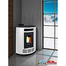 bronpi – Estufa de pellets 8 kW Mod.