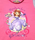 Kids Girls Official Disney Princess Sofia Long Pyjamas Pjs 2 Piece Set Long Sleeved Top + Trousers Size UK 1 - 5 Years