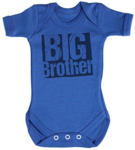 Big-brother-baby-strampelanzug (TRS - Big Brother Baby Bodys / Strampler 12-18 Monate Blau)