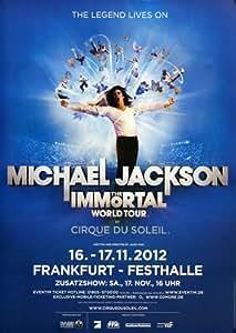 Cirque du Soleil - Immortal 2012 - Concert Poster Plakat