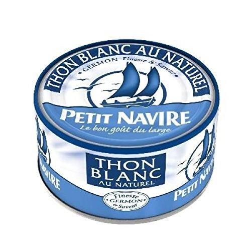 Petit Navire thon blanc naturel 140g - ( Prix Unitaire ) - Envoi Rapide Et Soignée