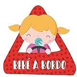 Seeling Baby Boy TOTOMO # ALI-020 Etiqueta adhesiva de beb/é a bordo Signo de aviso de seguridad para autoventa