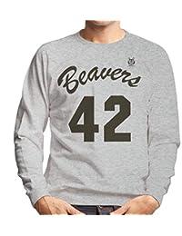 Cloud City 7 Teen Wolf Basketball Jerseys Mens Sweatshirt
