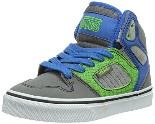 Vans Y ALLRED  (REPTILE) CHRCO Unisex-Kinder Sneakers Grau ((Reptile) Chrco / DN1)