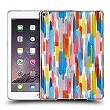 Head Case Designs Offizielle Ninola Farbige Lineen Schlaege Wasserfarben Soft Gel Hülle für iPad Air 2 (2014)