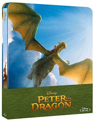 Steelbook Peter y el Dragon [Blu-ray] [Spanien Import]