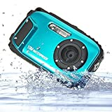 Stoga CGT002 2,7 Zoll LCD Digitalkamera 16MP Video Camcorder wasserdicht Kamera Zoom Video Recorder + 8 X Zoom Free Shipping Action Cam-blau