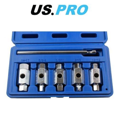 Pro Hex Set (US PRO 6Doppelendige Ablauf Ölablassschraube Key Set Hex Square Drive 3231)
