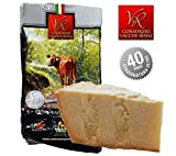 Parmigiano Reggiano VACCHE ROSSE, stagionato 40/48 mesi, 1 kg - SENZA LATTOSIO