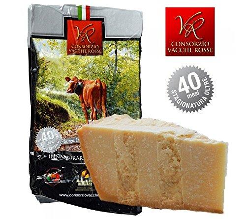 "Parmigiano Reggiano DOP""Vacche Rosse"" 40/48 Monate 1 Stücke – insgesamt kg.1"