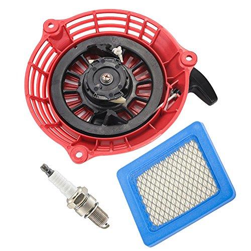 oxoxo ersetzen Recoil Starter mit Air Filter Zündkerze für Honda GC135GC160GCV135GCV160Generator Motor -