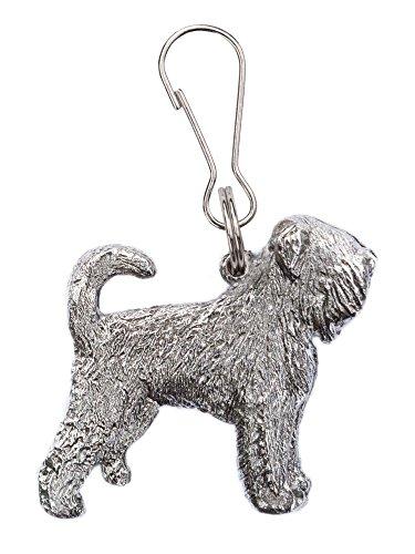 Terrier Nero Russo Made in UK, Collezione Tiretto Artistici Stile Cani
