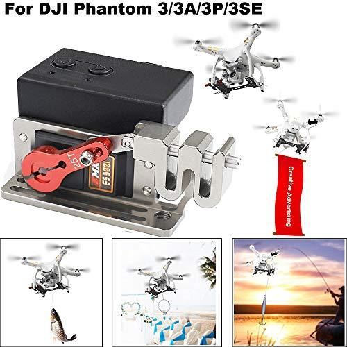HSKB Drone Dropping System- Fotografie Extender Zubehör Freigabe- und Abwurfvorrichtung Transport Gerät -Romantischer Heiratsantrag für das DJI Phantom 3/3 PRO / 3 ADV / 3SE 3 Series Drone - Extender Geräte