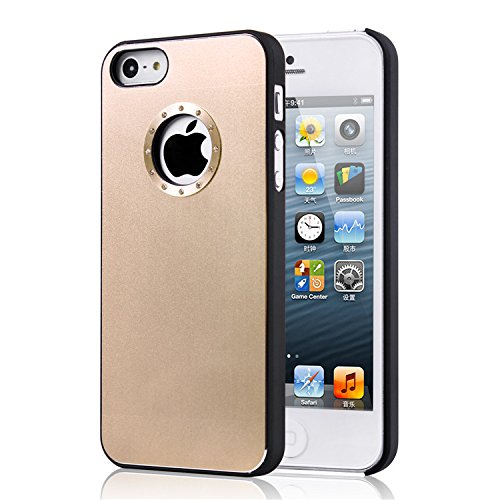 high-value-iphone-5-5s-quality-simple-gold-brushed-aluminum-diamond-case-bling-cover-with-black-side