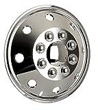 Radzierblende (1 Stück) chrom 15 Zoll universell passende Radkappe Wohnmobile PKW Transporter (15 Zoll).