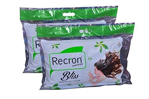 Recron Bliss 2 Piece Cotton Pillow - 16