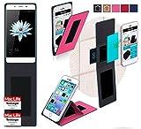 reboon Hülle für HiSense C1 Tasche Cover Case Bumper   Pink   Testsieger