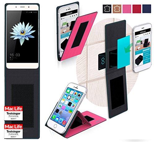 reboon Hülle für HiSense C1 Tasche Cover Case Bumper | Pink | Testsieger
