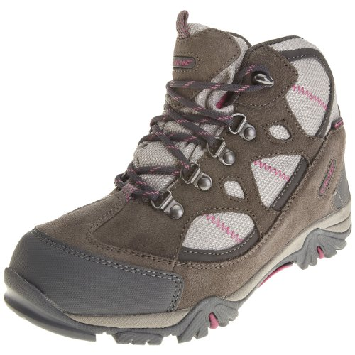 Hi Tec Renegade Trail WP JR HOH1098000, Unisex - Kinder, Trekking- & Wanderschuhe, Grau (Hot Grey/Warm Grey/Rose 52), EU 30 (UK 11) (US 12)