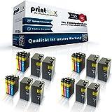 20x kompatible XXL Tintenpatronen für Epson Workforce WF3620 WF Workforce WF3640 DTWF C13T27154010 T2715 T2711-T2714 Black Cyan Magenta Yellow - Print Pro Serie