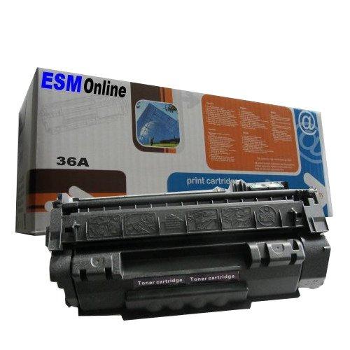 ESMOnline komp. Toner Ersatz für HP36A CB436A HP LaserJet P1505 P1505N M1120...