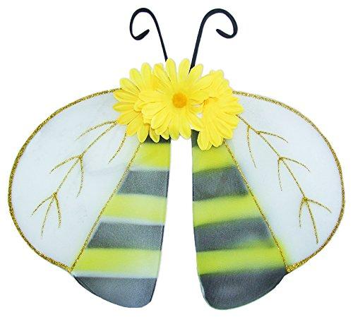 Flügel zum Kostüm Biene zu Fasching oder Karneval