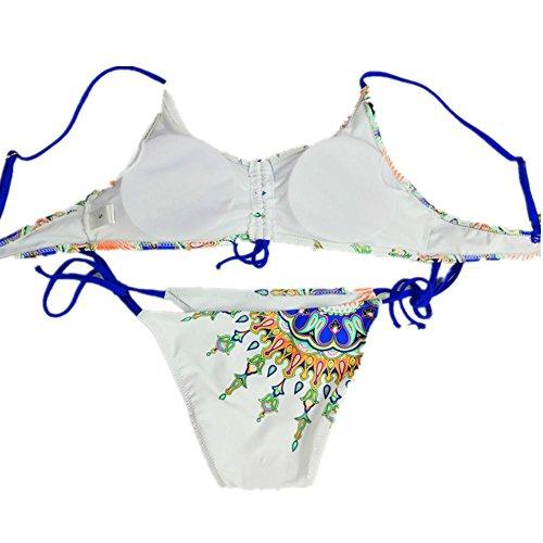 SHISHANG Bikini-Damen-Badeanzug Europa und den Vereinigten Staaten zwei Sätze von Split Badeanzug heiße Quelle Umwelt Flexibilität as figure