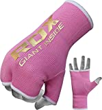 RDX Uni Elastische Boxbandagen Innenhandschuh, Rosa, S
