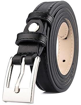 Correa De La Señora Salvaje Del/Simple Cinturón Casual/Cinturón De La Hebilla Del Pin