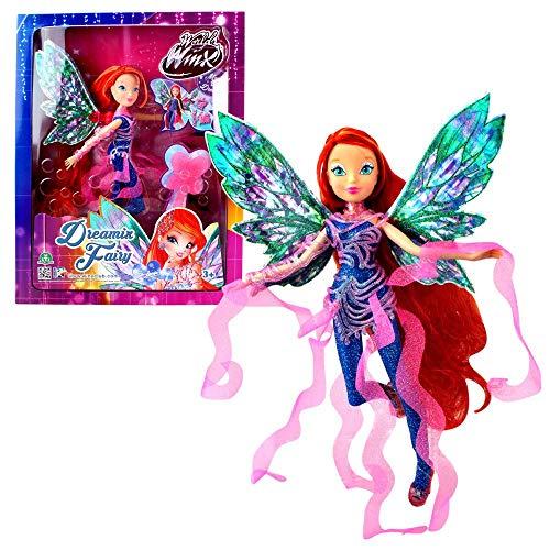 World of Winx - Dreamix Fairy - Hada Bloom Muñeca 28cm con...