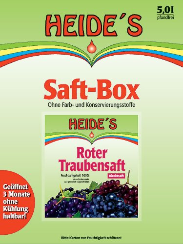 Roter Traubensaft, 2 x 5 Liter