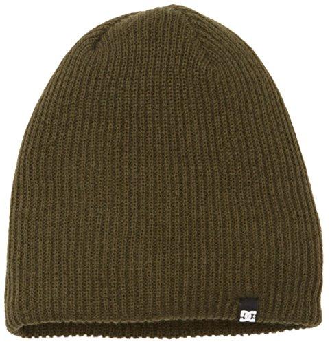 DC Shoes Herren Hat Hat CLAP M CSN0 Hat, grün, One Size Dc Beanie Woven