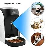 WOPETS APP Automatischer Futterautomat mit Echtzeit-Kamera, Sprachaufnahme, Timer für Hunde ( Groß, Mittel und Klein ) und Katzen - 2