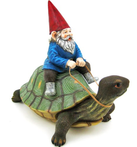 Large-Garden-Gnome-Riding-Turtle-Statue-Patio-Pool