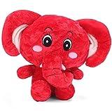 Tickles Red Cute Eye Big Ear Elephant St...