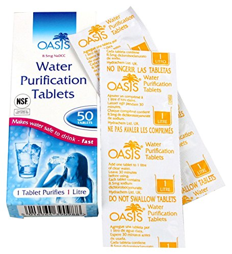 """Highlander Tabletten """"Aqua Clear"""" zur Wasseraufbereitung 50 Stück FA013"""