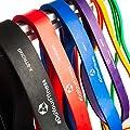 [6Stück] Fitnessbänder / Resistance Band»PullMeUp« - perfektes Rubber & Fitness Band für effektives Krafttraining, Ganz-Körper-Workout, CrossFit, Stretching & Yoga - Widerstandsbänder super für den ganzen Körper - Die Gymnastikbänder ( Expander, Powerband