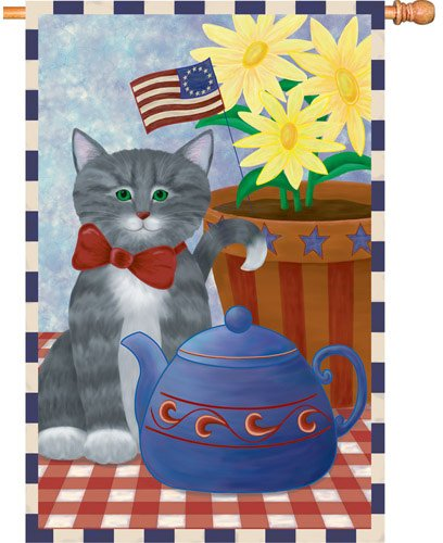 Premier Kites 52674House Brilliance Flagge, Kitty Korner 16, 28von 101,6cm