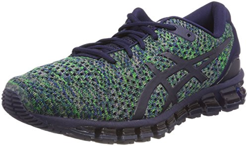 Asics Gel-Quantum 360 Knit 2, Chaussures de Running Homme, Bleu (Peacoatgreenwhite 5884), 42.5 EU