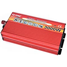 Convertidor del cargador del inversor de corriente del vehículo del coche 3000W DC 12V A CA 220V