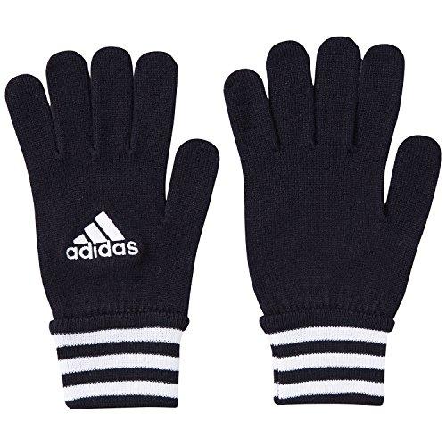 adidas, Guanti Uomo Palla da calcio Fieldplayer, Nero (schwarz/weiß), L