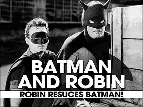 Robin Rescues Batman!