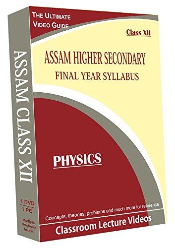 AVNS INDIA Assam Higher Secondary Final Year Syllabus (Class XII) - Physics Full Syllabus Teaching Video (DVD)