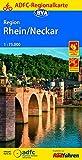 ADFC-Regionalkarte Region Rhein/Neckar, 1:75.000, reiß- und wetterfest, GPS-Tracks Download (ADFC-Regionalkarte 1:75000