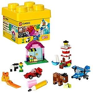 LEGO Classic MattonciniCreativi, Set di Costruzioni Classico Colorato con una Scatola per Riporrei Mattoncini(221Pezzi), 10692 5054809194137 LEGO