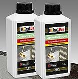2 Liter GRUNDREINIGER Intensiv Naturstein Reiniger Marmor Fliesen, Stein und Beton L - 20 L Konzentrat