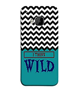 PrintVisa Designer Back Case Cover for HTC One M9 :: HTC One M9S :: HTC M9 (Love Lovely Attitude Men Man Manly)